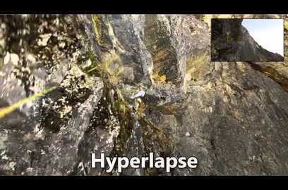 Hyperlapse Software for Aerial Photography