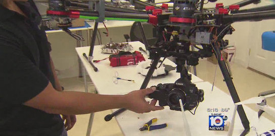 Fort Lauderdale company says sales for drones skyrocketing – Local 10