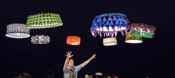 Cirque du Soleil Turns Flying Helicopter Drones into Magical Floating Lampshades