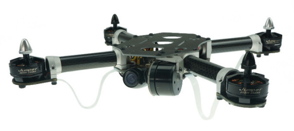 JUMPER 260 258mm Frame With Brushless 1 Axis Gimbal Quadcopter ARF